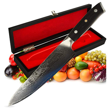 8 inch Amazon Hot Sale Professional 67 Layers Japanese VG10 Damascus Steel Kitchen Chef Knife