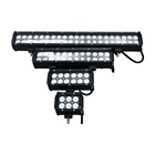 New Black Completa 20 Polegadas 12V 24V 126W CREES LED Offroad Luz Bar Flood Mancha