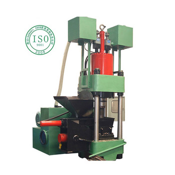 Automatic vertical high density  cheap hydraulic metal briquetting press machine