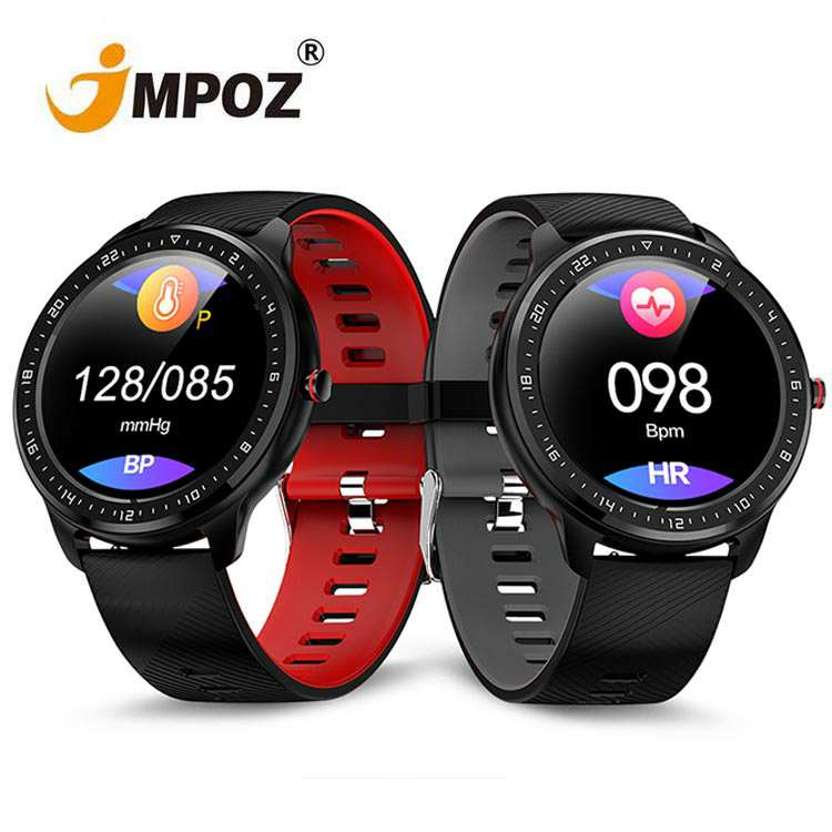 <strong>Z06</strong> Full Screen Touch Smart Watch Men IP67 Waterproof Heart Rate Blood Pressure Bracelet for Android IOS Watch Phone