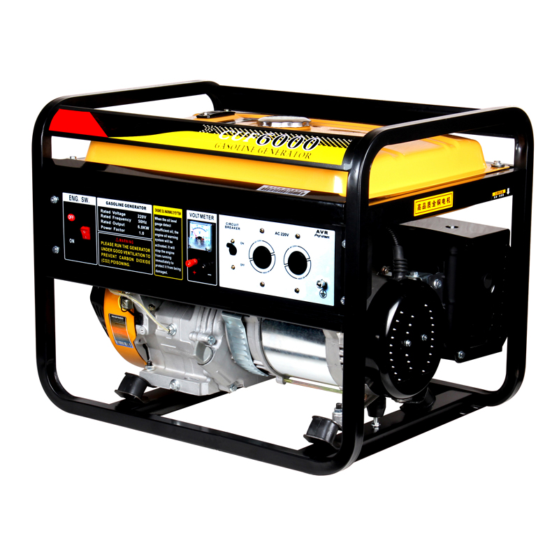 Made in China 4KW 4000-Watt Gasoline Engine Generator Small Portable Home Use Petrol Generator