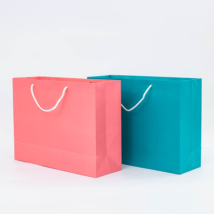 Hot Sell Pink Custom <strong>Paper</strong> Tote Bag