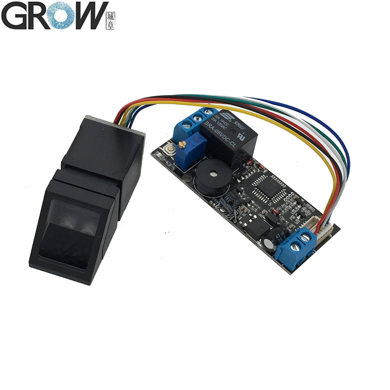 K202 DC12V Low Power Consumption Rotatable Relay Button Fingerprint Control Board