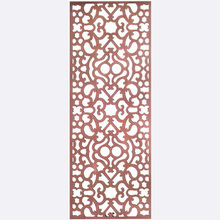 Modern style luxury color carving room divider Home decoration screen