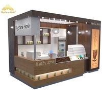 Customized mall coffee kiosk coffee shop kiosk designs for sale