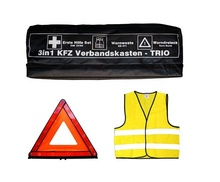 auto Emergency <strong>safety</strong> 3 in 1 Kits DIN13164 first aid