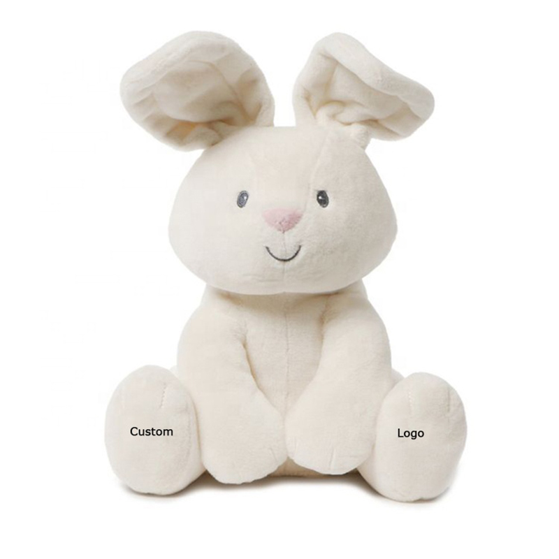Embroidery Blank Custom Easter Plush Stuffed Animal Soft Toy <strong>Rabbit</strong> Bunny