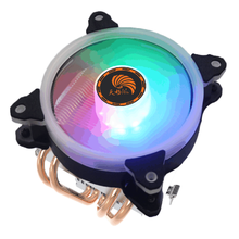 Universal Platform CPU Copper Tube Heat Pipe With Fan <strong>RGB</strong>