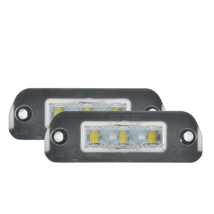 2x Ailead No Error 3-SMD LED License Plate Light <strong>For</strong> Mercedes-<strong>Benz</strong> <strong>W164</strong> X164 W251