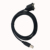 Micro USB B male naar USB B female Print Datum Kabel