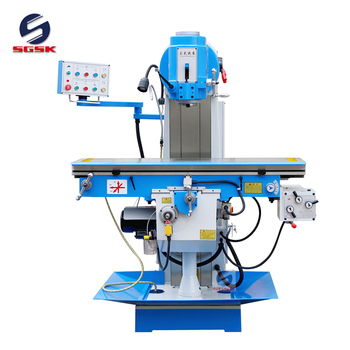 X5036B steel vertical milling machine small price