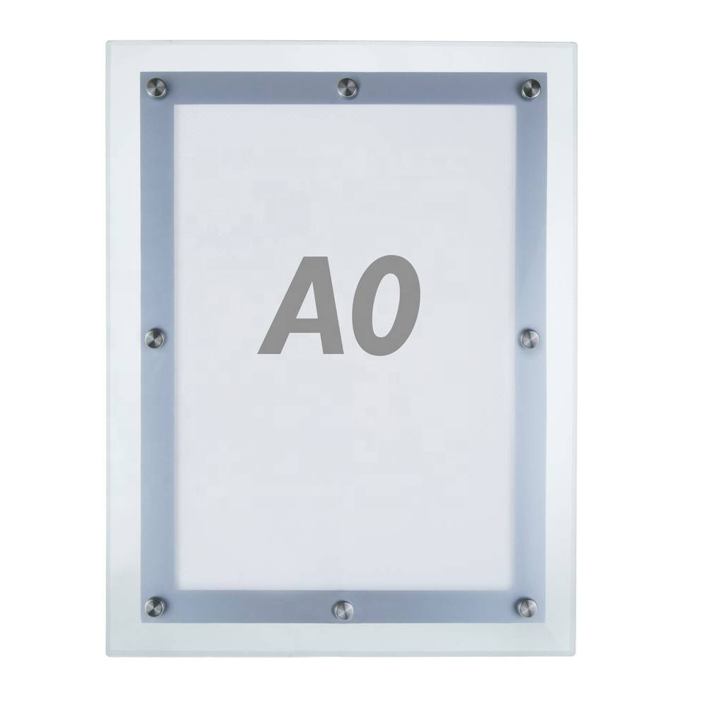 <strong>A0</strong> Acrylic Panel Advertising Display <strong>Slim</strong> <strong>LED</strong> <strong>Light</strong> Box
