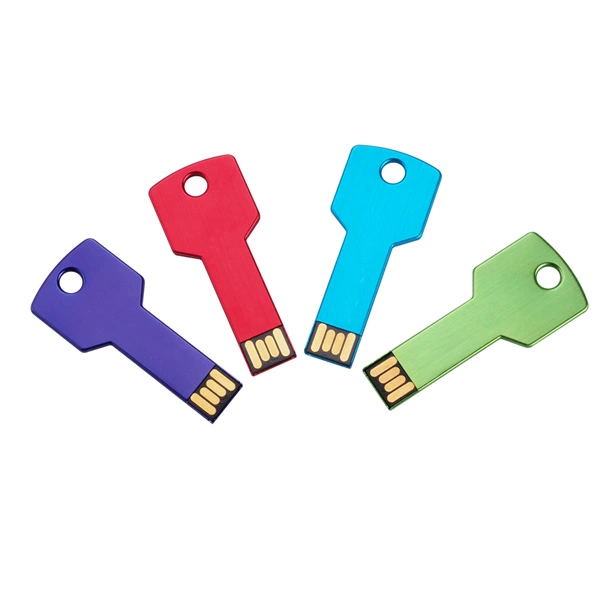 Custom Key USB Stick Metal USB Flash Drive Whole, 4GB 8GB 16GB