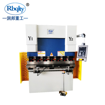 CNC mini plate bending machine hydraulic press brake with factory price