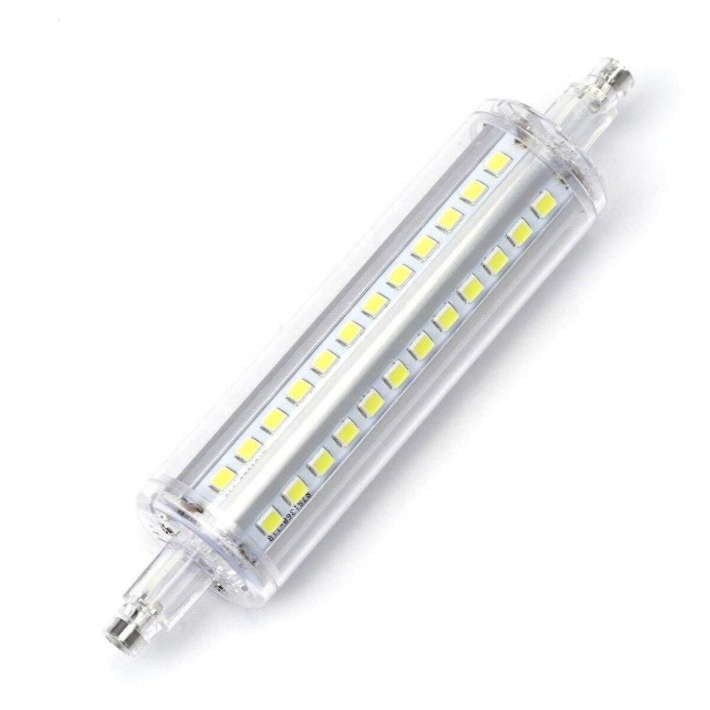 R7s 118mm LED <strong>bulb</strong> 8W <strong>J118</strong> LED light non-adjustable J <strong>bulb</strong> equivalent R7s halogen lamp