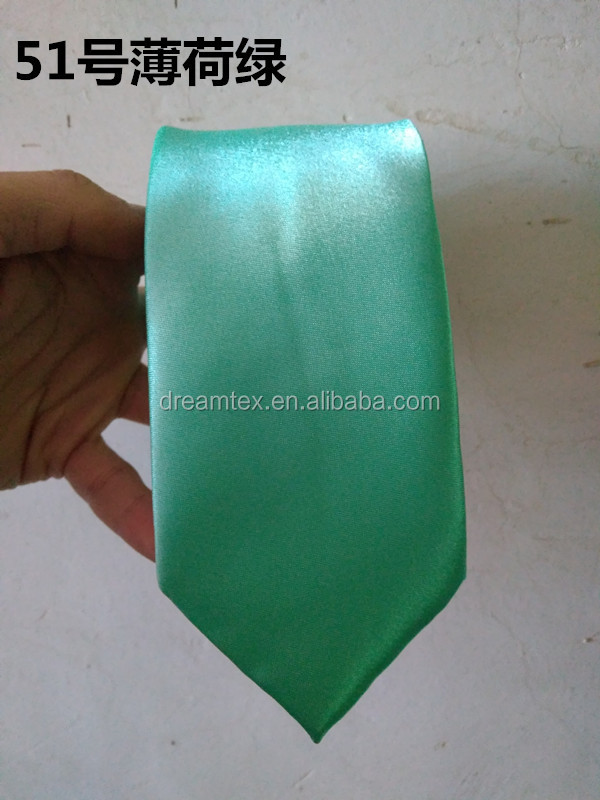 famous man style hot sales The latest fashion good quality  soild plain slim new italy style   business wedding tie