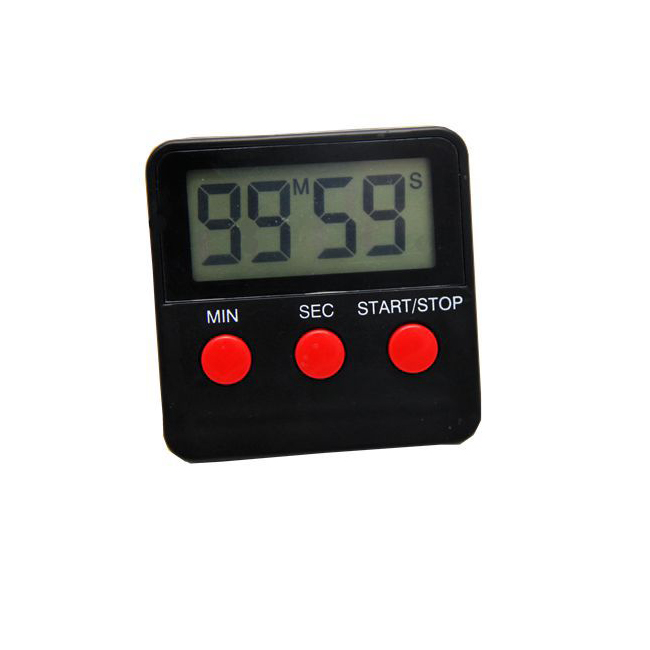 Mini Size Digital Countdown <strong>Timer</strong> with Strong Magnet on the Back in ABS Plastic Material