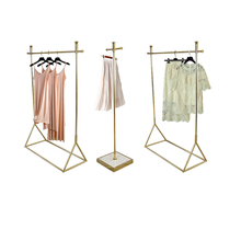 Clothing Modern Shop Counter Design Garment Store Display Stand Rack