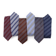 Perfect Nostalgic Retro Style High Quality Jacquard Business Neck <strong>Tie</strong> Fashion Multicolor Cravatta Silk Mens Silk <strong>Tie</strong> Striped