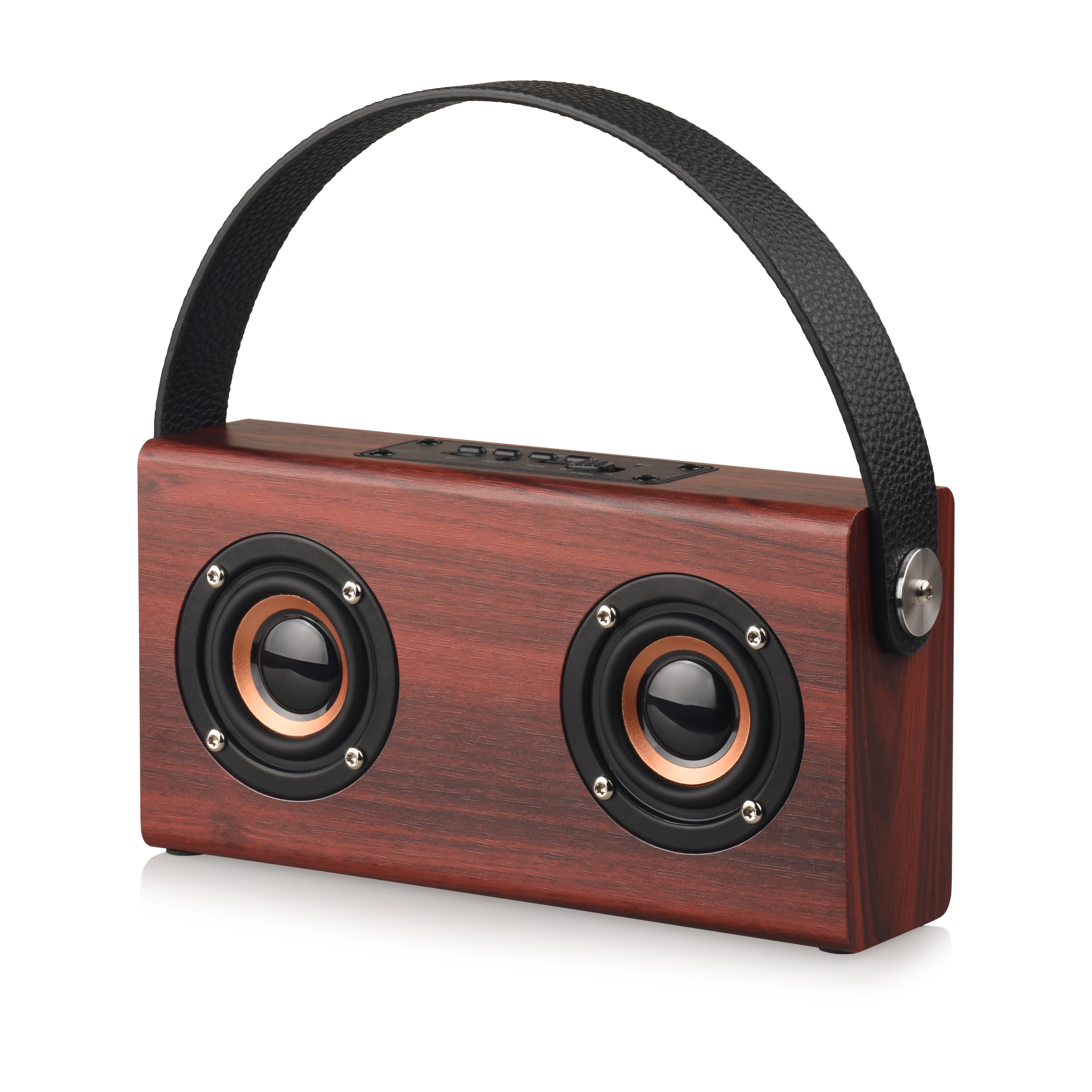 Mini Square Portable Wireless Plywood Speaker, Allstar Mini Wooden <strong>Bluetooth</strong> Speaker