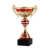 Custom Gold and Red Metal Trophy Cups