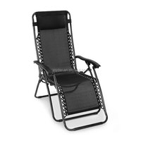 Leisure Lounge Sofa Modern Luxury Dining Relax Comfort Armrest Portable Steel Mesh Recliner Folding Zero Gravity Massage Chair