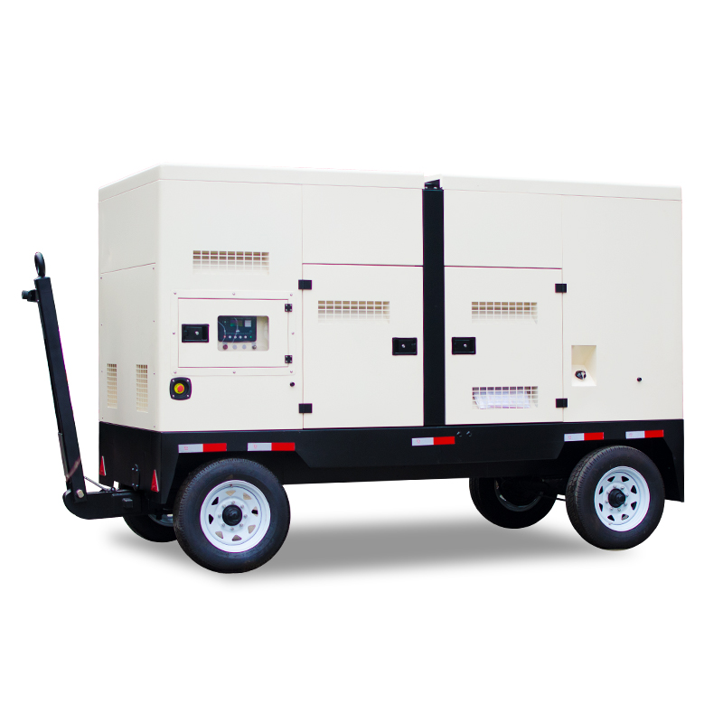 Easy move trailer <strong>diesel</strong> generator 200 kva 160 kw silent trailer <strong>diesel</strong> generator with wheels