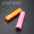 Fashion colored lipstick cosmetic korea hottest brand cylinder lipstick tube container packaging