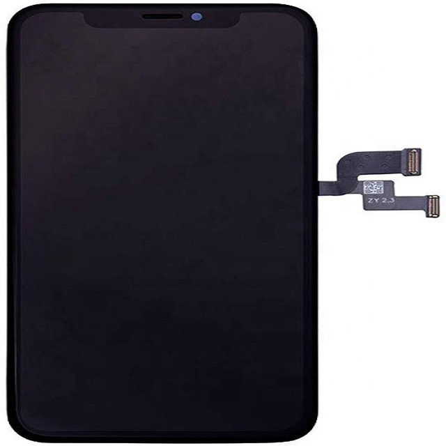 For <strong>iPhone</strong> X 5.8 inch Retina LCD Upgrade Display OLED Touch Screen Digitizer Glass Panel with Frame Assembly Replacement