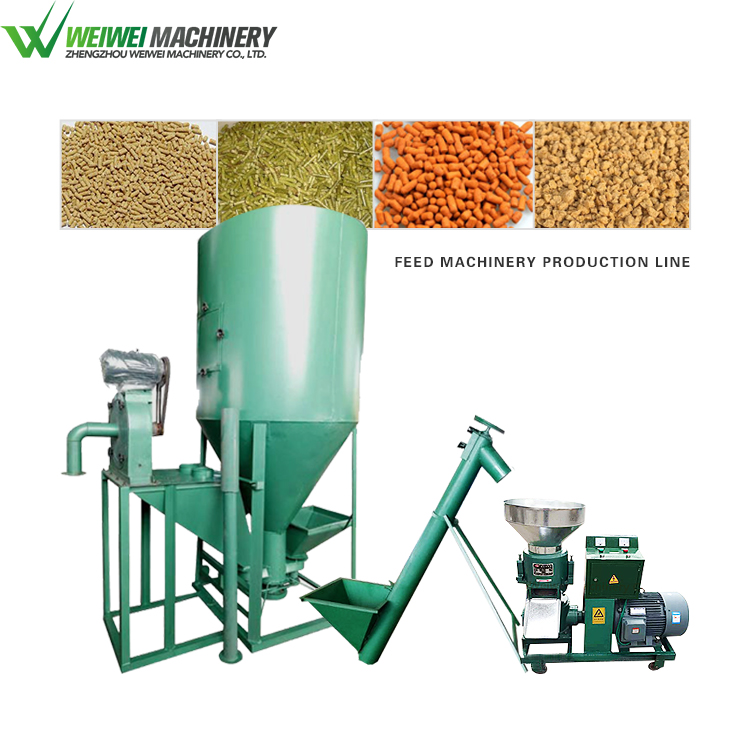 Zzswwjx new design chicken feed production line