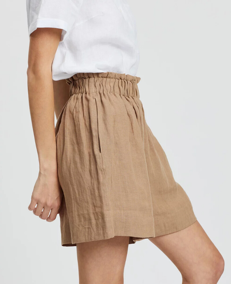 New fashion summer linen basic Shorts