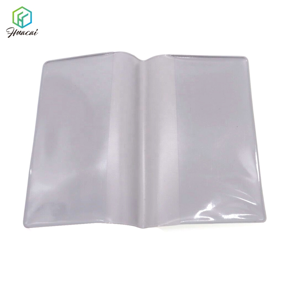 Colorful Plastic Poly PVC Book Cover With Logo Printing and Name Card Holder