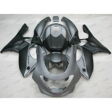 for YAMAHA YZF600R 00 <strong>01</strong> Body Kits YZF600R <strong>02</strong> 03 Full Body Kits Thundercat 1997 - 2007 Fairings Matte Black Silvery