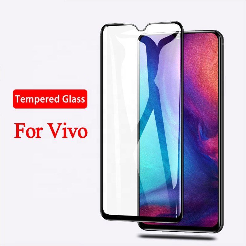 9D Full Cover Tempered Glass <strong>Screen</strong> <strong>Protector</strong> For VIVO <strong>Z10</strong> V11/V11PRO/X23 V11i Y97 V9PRO Y71i Z3 Y91 Y93