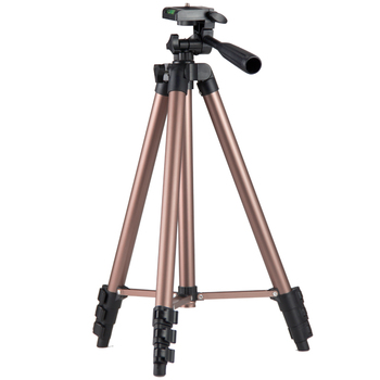 16.5 - 50 Inches Amazon hot sell  champagne color Lightweight Camera Mount Stand Tripod