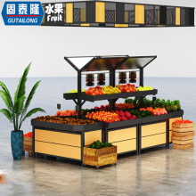 <strong>fruit</strong> shop interior design wooden design