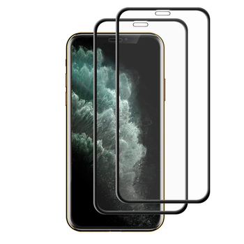 Cell Phone New 5D Curved Edge Full Coverage Tempered Glass Screen Protector For iPhone 11 Pro Max