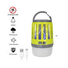 Multi-function Outdoor Waterproof Indoor USB Charging Camping Lantern Killer <strong>Insect</strong> Fly Trap Bug Zapper Mosquito Lamp