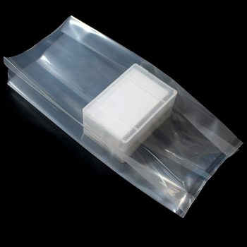 hdpe bag clear poly large plastic side gusset ldpe recycled bag