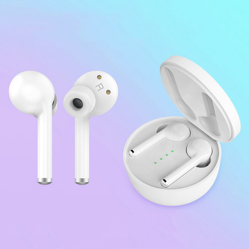 Mini Stereo Bass Earphone Earbuds Sport Headset with Charging Box
