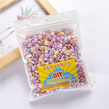 Multicolor heart shape Plastic Beads For DIY Making