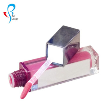 Led light Lip Gloss with Mirror