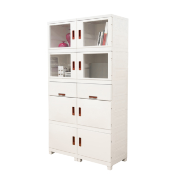 Office furniture glass door simple new design modern modular 2 drawer vertical file filing cabinets plastic for storage