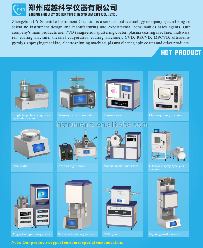 Desktop Anti-corrosion spin coater Homogenizer for semiconductor wafers, slides, wafers, substrates, ITO conductive glass