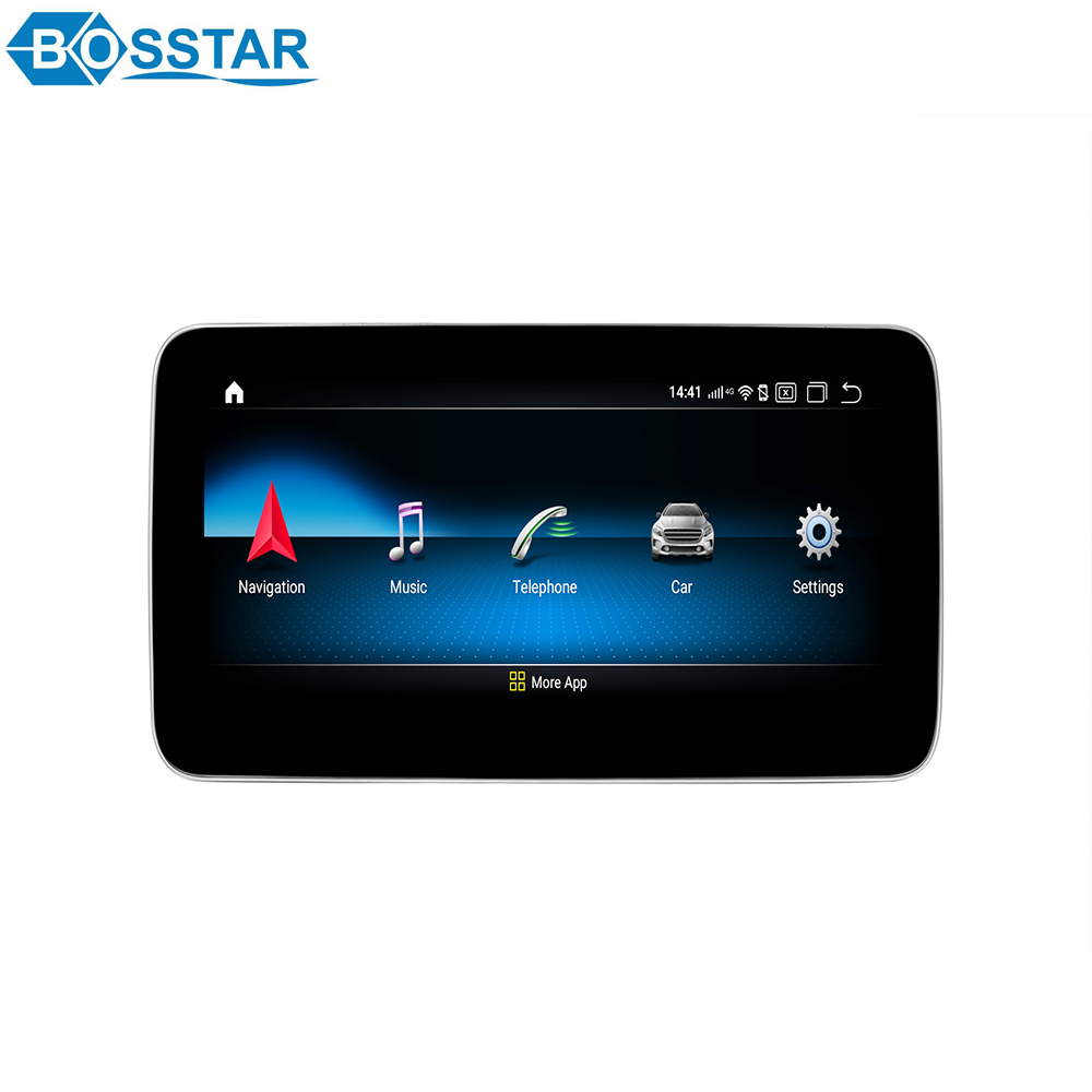9 Inch Round Edge Screen Qualcomm <strong>Android</strong> Car Head Unit Multimedia for Benz ML/GL 2012-2015 X164 <strong>W164</strong>