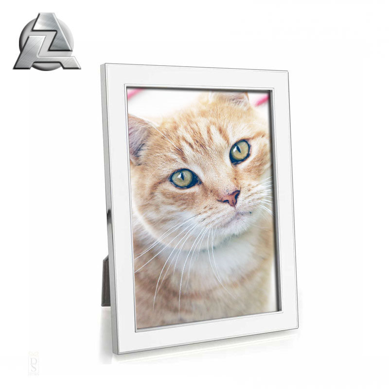 Chinese supplier cheap small anodized custom made metal photo <strong>frame</strong>