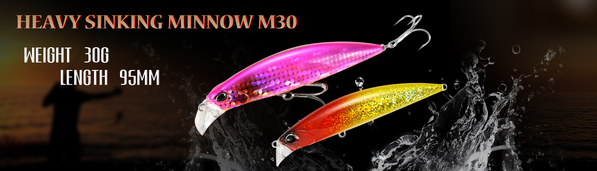Fishing Lures Wholesale 90mm 27g Fishing Lures Bait Minnow Lure Trout Peche Artificial Hard Baits M349