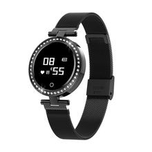 <strong>X10</strong> Ladies Smart Watch Round For Women IP68 Heart Rate Blood Pressure Monitor Message Pedometer Calorie Smartwatch