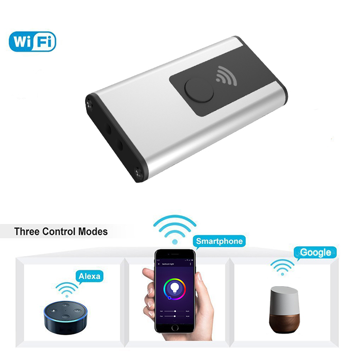 Esun Tuya Smart Life APP Control Smart Light <strong>Controller</strong> Voice Control by Alexa LED Dimmer RGBW <strong>Controller</strong>