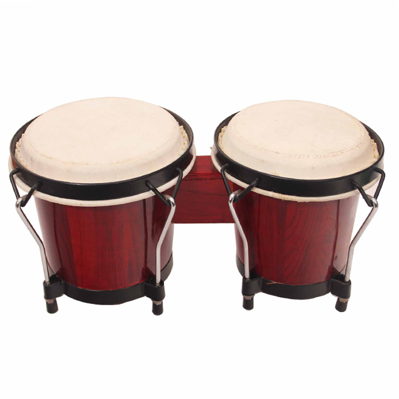 High quality percussion miniature musical instruments bongo drums